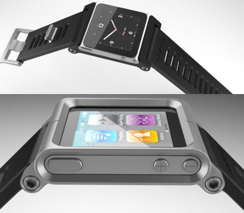 TikTok and LunaTik iPod nano watch kits look awesome, despite Ke$ha naming convention -- Engadget