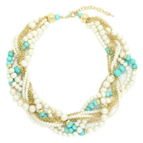 Zora Pearl Clusters Necklace