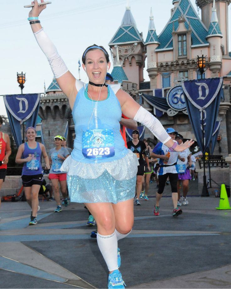Cinderella running costume #rundisney