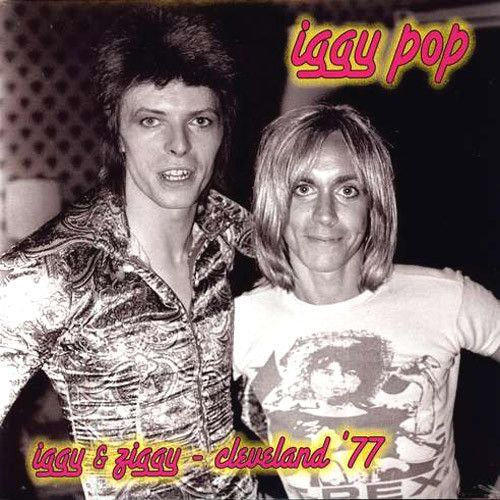 Iggy Pop Iggy & Ziggy Cleveland 1977