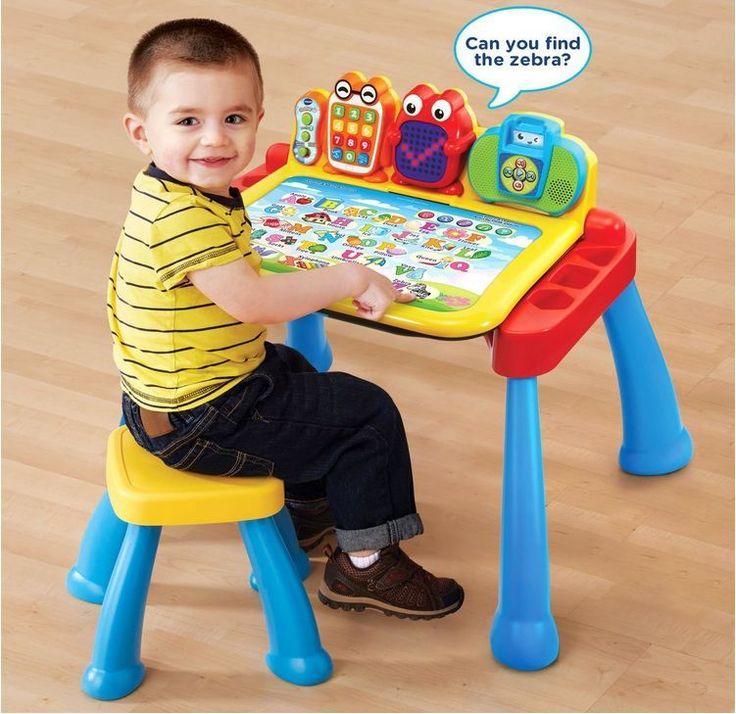 193fce1ddb1 Activity Desk For Kids Educational Toys 2 Year Olds Boys Girls 3 in 1 Vtech  Gift