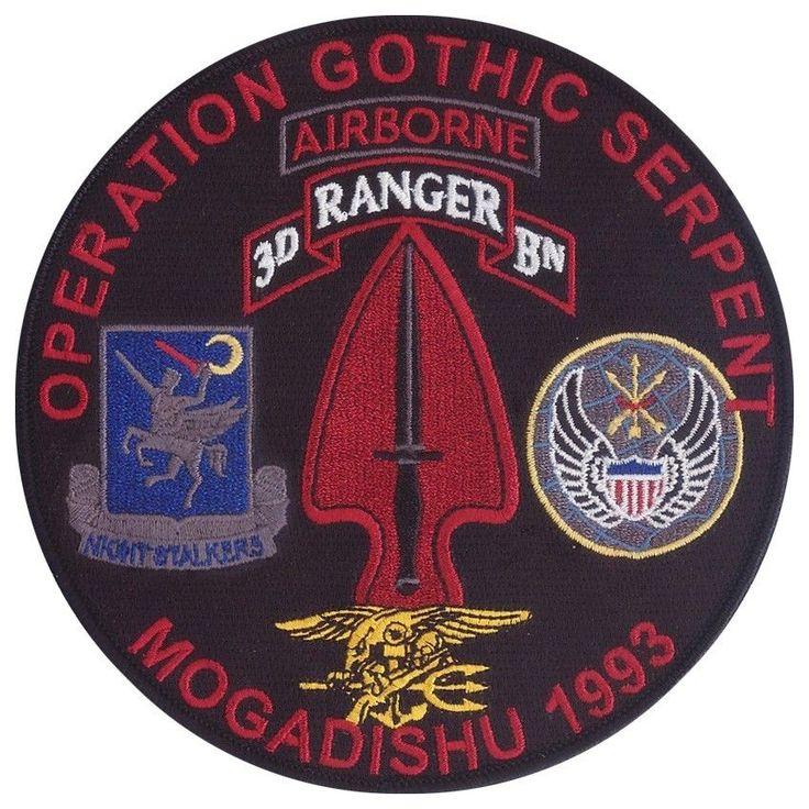 Operation Gothic Serpent - The Battle of Mogadishu - Black Hawk Down - TF Ranger