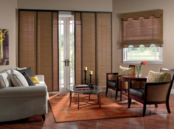 Sliding Panels  Great For Large Windows, Patio Doors And Closets.
