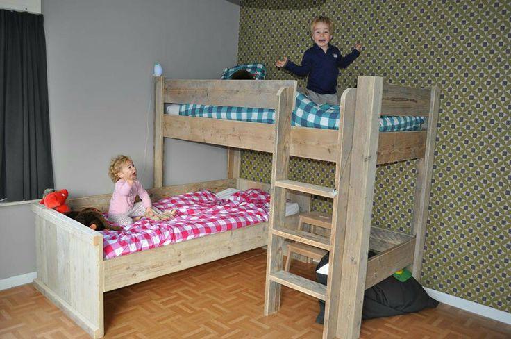 Tweeling kamer (als de meiden niet apart willen slapen)