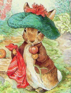 dapper Benjamin bunny. Beatrix Potter: