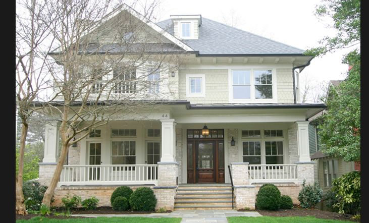 Best 25 craftsman exterior ideas on pinterest for Craftsman style home builders atlanta
