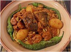 Spaghetti Salsa mit Meeresfrüchten