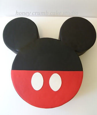 Idea for B-day #2 for our E - Mickey Cake