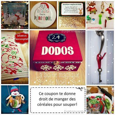 25 idées pour la boîte magique de Noël  