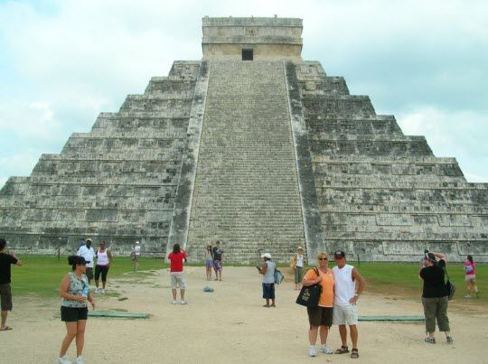 Visit the ruins of Chichen Itza and live this captivating story of Mexico's ancient Mayan civilization. #TravelToMexico  #Cancun #Tourisim