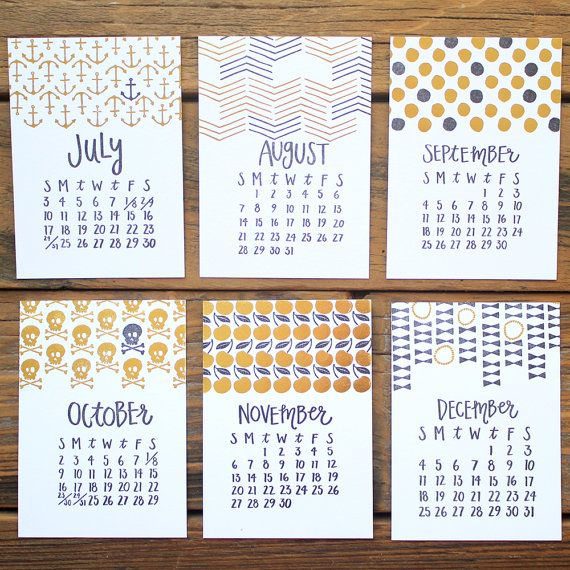 Black and gold foil are back for the new 2016 calendar! Please note this listing is for a refill only. This will not be shipped with a wood stump.  :: 6