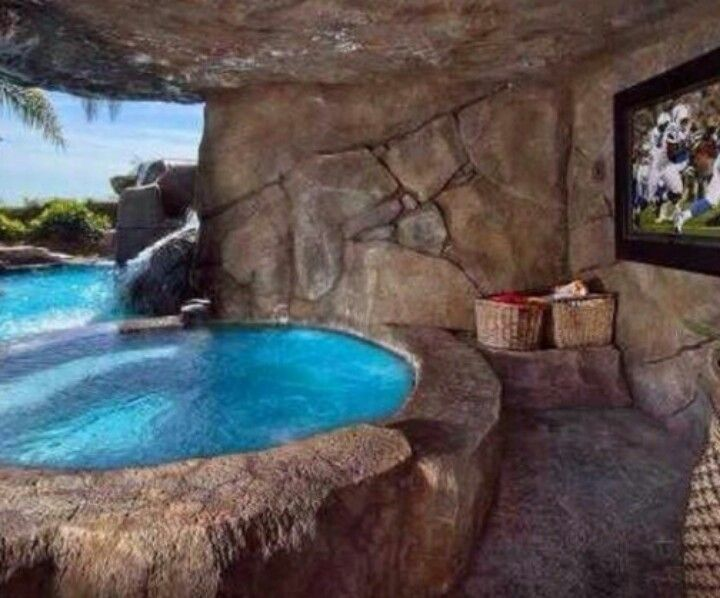 Excellent idea for a pool! Backyard ideas