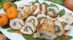 The Cake Boss' Sausage-Stuffed Turkey Rollatini - Good Morning America - Just saw the demo on Good Morning America. Small group this year & we all like white meat & who wouldn't like this sausage stuffing, So doing this!
