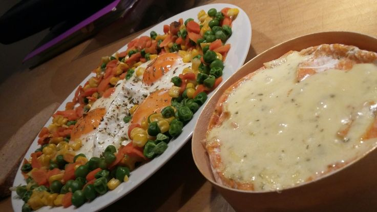 Vegetables & cheese