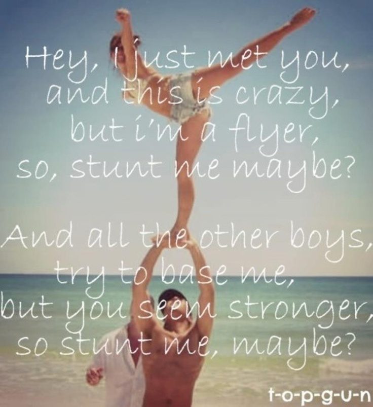 Partner Stunting ) I want to see this Lindsay and Ryan