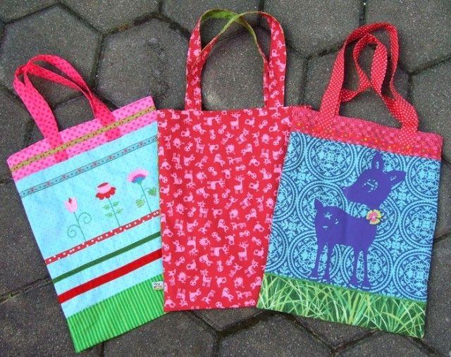 RatzFatz-Tasche, Kreativ-Ebook als Geschenk - farbenmix Online-Shop - Schnittmuster, Anleitungen zum Nähen