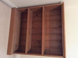 Wooden TV unit | Crewkerne, Somerset | Gumtree