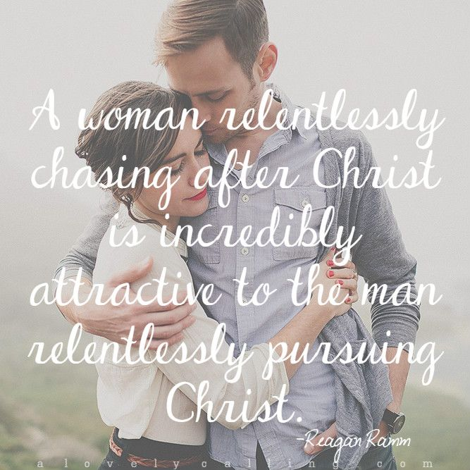 how to know when a godly man is pursuing you