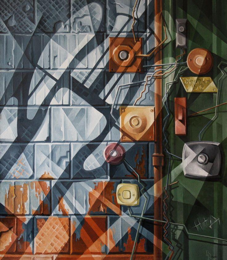 Doorbells. Cubo-futurism. Krotkov Vassily. 2016