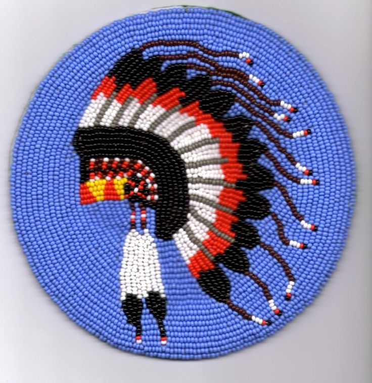 Really. All Native american beaded rosettes strips headbands sorry