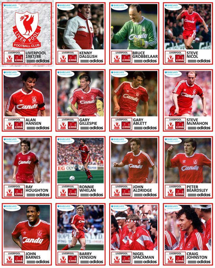 Liverpool FC 1987/88 #LFC