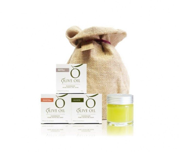 Olive Oil Skin Care: Baby Hamper Pack