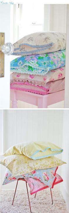 Rosehips pillowcases