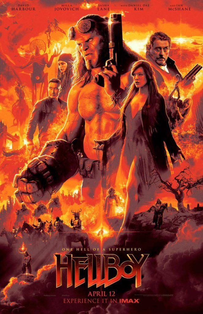 студия Lionsgate опубликовала четыре новых отменных постера