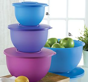 Tupperware | Tupperware(r) Impressions Classic Bowls. Earn products for free by hosting an online party. my.tupperware.com/smithcrystalb