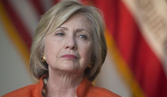 As details emerge about the extent of Hillary Rodham Clinton's use of personal email to exclusively conduct business as secretary of state, her defense has shifted. (Associated Press)