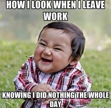 Funny!!! Wish I could feel this way. So I guess this is how I feel when I go on long drives at work.