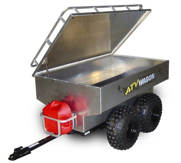 1600 Lb. Aluminum ATV Trailer from Montana Jack's ATV Outpost & Supply. Learn more about this ATV trailer here http://www.montanajacks.com/1600lbaluminumatvtrailer.aspx