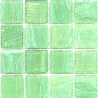MosaicTiles.com.au - Grass Green Smalto SM10 Bisazza Mosaic Tiles, $5.99 (http://www.mosaictiles.com.au/products/grass-green-smalto-sm10-bisazza-mosaic-tiles.html)