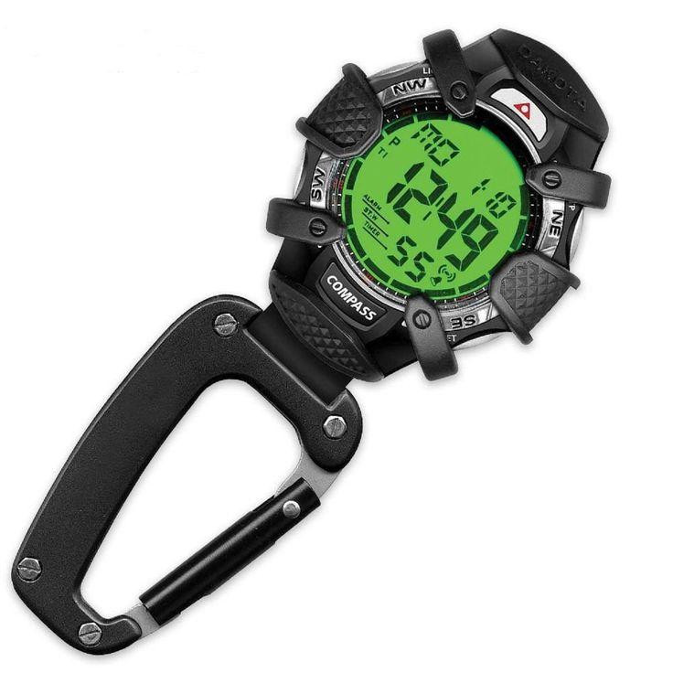 Dakota Electronic Compass Clip Watch-Alarm and Stpwtch Blue