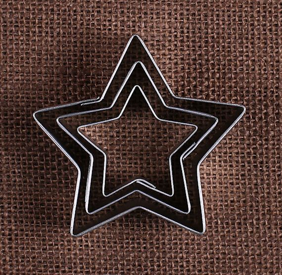 Star Cookie Cutters Set