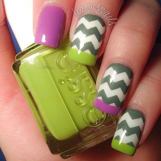 Mejores 1465 imágenes de Nails en Pinterest | Diseño de uñas ...