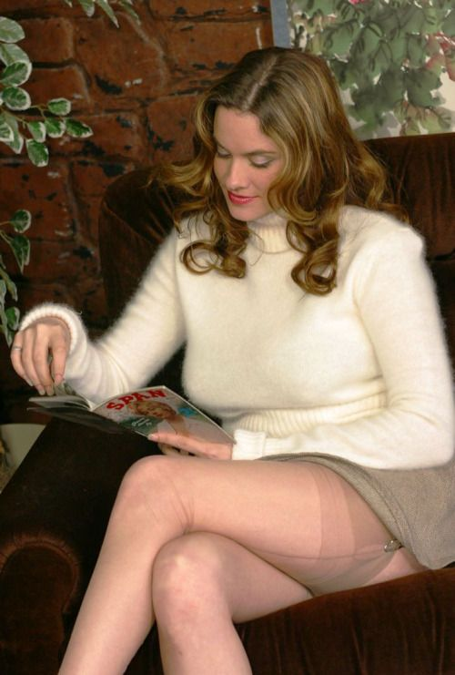 At home pantyhose sex f outdoor