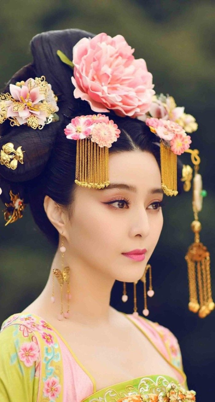 chinese hairstyle - 736×933