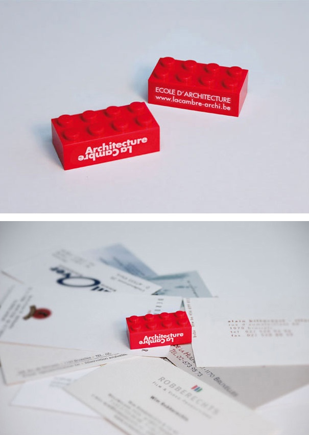 112 best business card designs images on pinterest lipsense ambient advertisment created by leo burnett belgium for la cambre architecture within the category education reheart Image collections