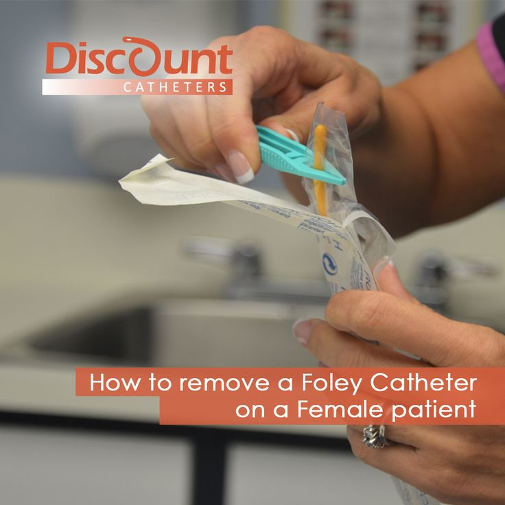 Learn How to remove a Foley Catheter on a Female patient right here --> https://youtu.be/QquOyZUsCVo