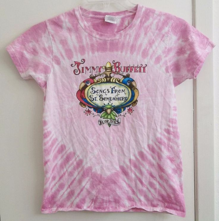 Jimmy Buffett Songs From St. Somewhere Tour 2013 T-Shirt Ladies S Small