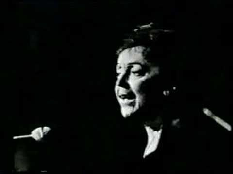 "▶ Edith Piaf sings ""Milord"" - YouTube"