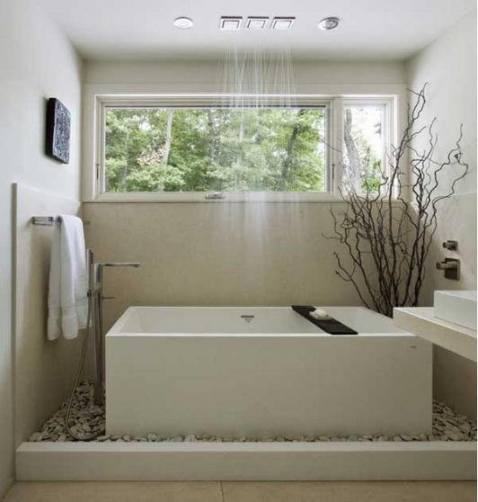 beautiful bathroom with nature aspects - Beautiful Bathrooms