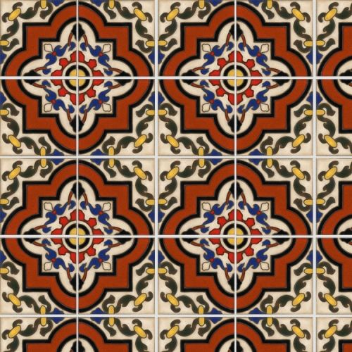 85 Best Mexican Spanish Tiles Images On Pinterest
