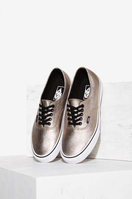 Vans Decon Leather Sneaker - Bronze - Sneakers