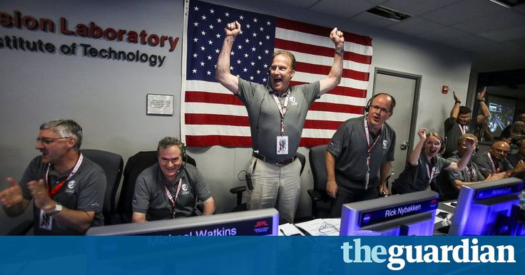 'Welcome to Jupiter': Nasa mission puts Juno in orbit after five-year journey. Arrival of the spacecraft prompted shouts of joy at Nasa's jet propulsion lab, where scientists had been watching Juno's progress with bated breath https://www.theguardian.com/science/2016/jul/05/jupiter-nasa-mission-puts-juno-spacecraft-in-orbit-after-five-year-journey?CMP=fb_gu