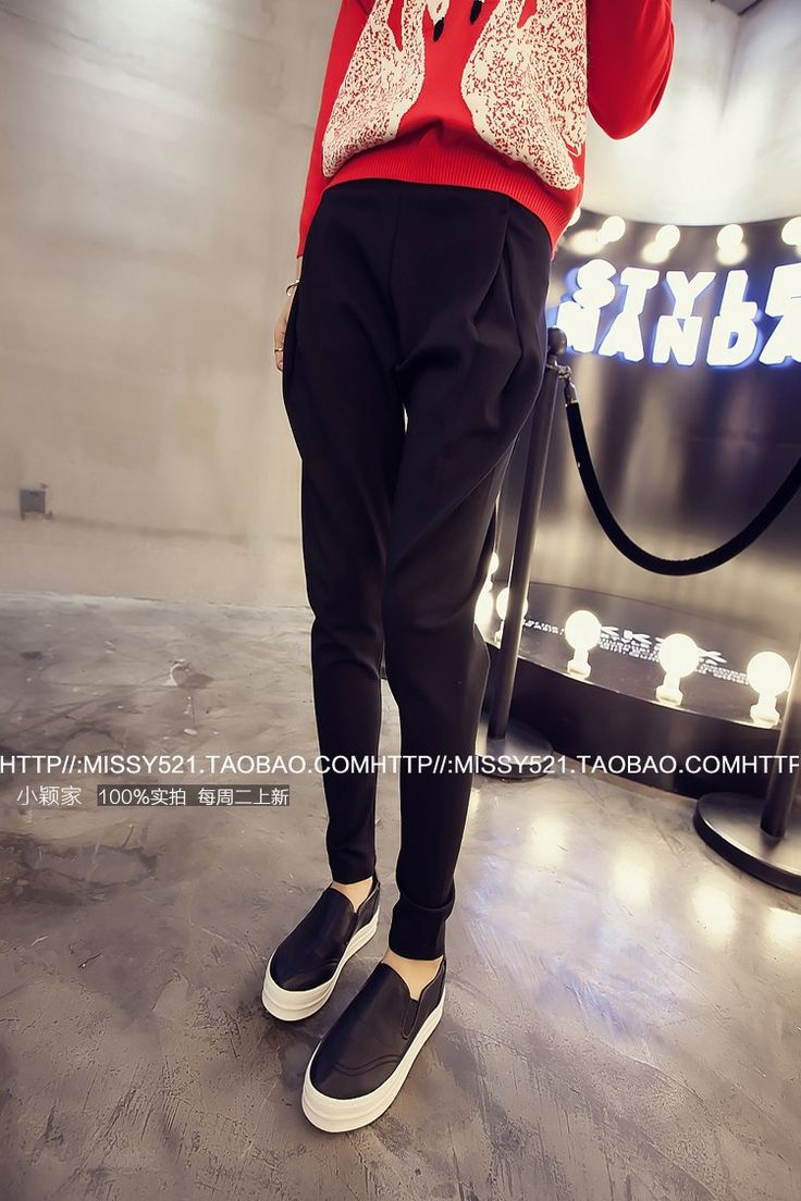 秋カジュアル無地シンプル着痩せレギュラーウエストズボン - DWSTYLE レディースファッション激安通販|10代·20代·30代ファッション|海外人気ファッション激安購入