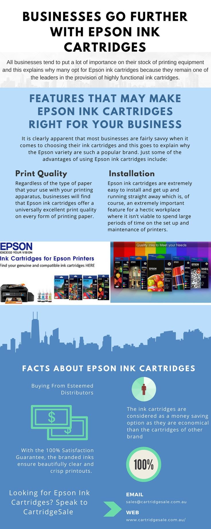 Features that May make EPSON Ink Cartridges Right for Your Business