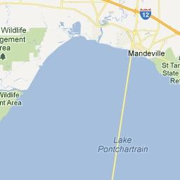 St. Tammany Parish - Louisiana Zip Code Boundary Map (LA)