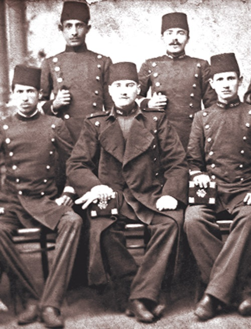 Atatürk and friends